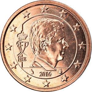 [#795755] Belgium, 2 Euro Cent, 2016, MS, Copper Plated Steel, KM:New
