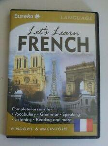 Eureka: Let's Learn French - Windows PC & Macintosh, 2002 - ede