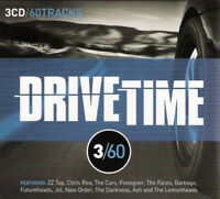 DRIVETIME 3/60 60-track 3xCD album NEW/SEALED ZZ Top Chris Rea The Cars Jet