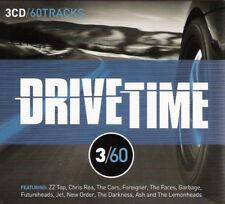 Drivetime 3/60 60-track 3xcd Álbum Nuevo/Sellado Zz Top Chris Rea The Cars Jet