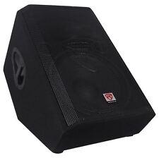 "Rockville RSM15A 15"" 1400 Watt 2-Way Powered Active Stage Floor Monitor Speaker"