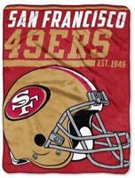 San Francisco 49 ers Kuscheldecke Blanket Royal Plush Decke NFL Football 152 cm
