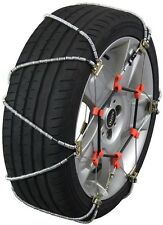 155/80-12 155/80R12 Tire Chains Volt Cable Snow Traction Passenger Vehicle Car