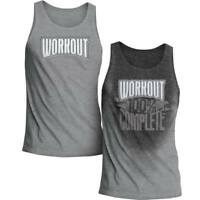 Workout 100% Complete | Workout Sweat Activated Men's Tank | Original Brand New
