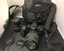 Minolta Maxxum 430si RZ 35mm SLR Film Camera Body & 70-210 & 28-80 zoom lens