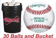 "30 Diamond DBX Baseballs and Black Cushion Lid Bucket ComboW/New Duracover ""NEW"""