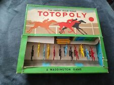 Waddingtons Totopoly Vintage Version With Metal Horses