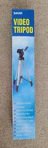 SAKAR Photo / Video Camera Tripod TR-60 - 57 Inches 2 Pounds Aluminum