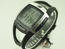 NEW BALANCE SPORT RUNNING DIGITAL WATCH 28-904-002 FINGER TOUCH HEART RATE STRAP