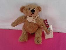 """Vintage Russ Mohair Plush Teddy Bear Edition Buckley 8"""" Coa"""