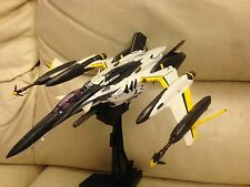 DX Chogokin Macross F Frontier YF-29 Durandal Valkyrie 30th plus Super Parts SET