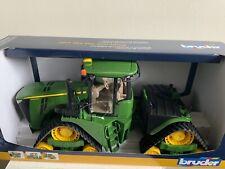 Bruder John Deere 9620RX Tractor con pistas 04055 escala 1:16 Nuevo
