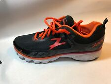 New Zoot Mens Solana Black Black/Pewter/Solar Flare Running Shoes Size 9