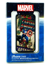 Captain America iPhone 4 4s Clip Case Disney Theme Parks Exclusive Guard Cloth