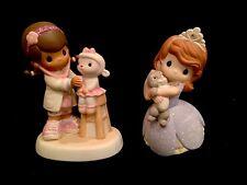 Precious Moments Disney Junior Set! Princess Sophia the First & Doc McStuffins!