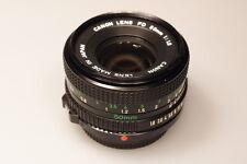 CANON FD 50mm 1:1.8 PRIME LENS W/REAR CAP EXCELLENT+++