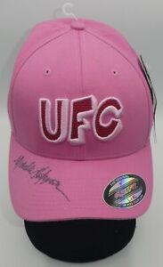 Michelle Waterson Signed Official UFC Pink Hat BAS Beckett COA Autograph 229 218