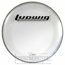 Ludwig Bass Drum Logo Head : P3 Clear with Block Logo 26