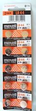 10 Maxell LR44/A76/AG13 Alkaline Battery HITACHI JAPAN EXP 12/2019 or later MELB