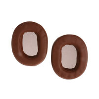 1Pair Replacement Ear Pads Cushion For Audio-Technica ATH-M50X Sony Brown