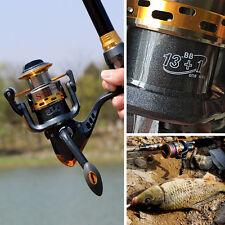 Spinning Fishing Reel 13+1BB 5.5:1 Tackle Gear Saltwater Freshwater Reel Fishing