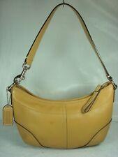 Vintage Coach 4283 Authentic Shoulder bag Purse Handbag Tan / Camel & Leather