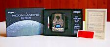 Zippo moon landing 50 years 2019 COTY armor 3D lighter