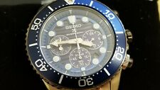 Seiko Save the Ocean Special Ed Chrono SSC675 Prospex Solar Diver Men's Watch