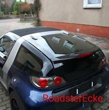 Autosonnenschutz aus Makrolon für Smart Roadster Coupe 452 Bj. 03-05