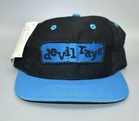 Tampa Bay Devil Rays MLB Vintage 90's Twins Enterprise Snapback Cap Hat - NWT