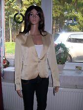 Ralph Lauren edler Blazer New Monika Jacket Futter aus Seide creme Size 8 S neu