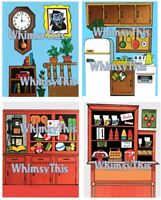Vintage Fisher Price Little People 928 Sesame Street Litho Sticker WALLS PreCut