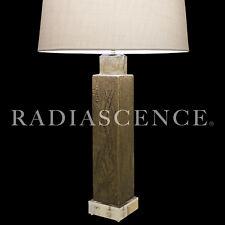 MARCELLO FANTONI RAYMOR BRUTALIST ATOMIC MODERN CERAMIC SGRAFFITO TABLE LAMP 70S
