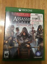 Assassins Creed Syndicate Limited Edition Xbox One Video GAME Box Photos