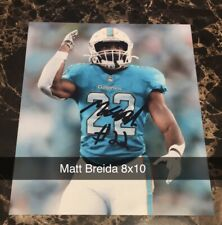 Matt Breida Signed 8x10 MIAMI DOLPHINS NFL San Francisco 49ers Super Bowl LIV