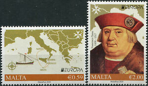 MALTA - 2020 - SET OF 2 STAMPS MNH ** - Ancient postal routes