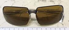 Prada SPR 74A occhiale sole nuovo lenti marrone modello glasant made italy