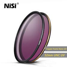 NiSi 52mm Ultra Slim PRO Nano UNC UV Filter Multi-Coated Lens Protector Gold