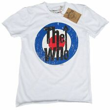 GENIAL Amplified Official The Who Target Rock Star Vintage VIP Camiseta G.L