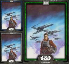 Topps Star Wars Digital Card Trader Blue Steel Wedge Antilles Base 4 Variant