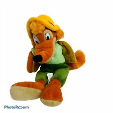 "Walt Disney World Brer Fox Beanie Plush 9"" Stuffed Animal Toy"