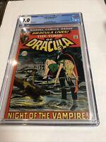 Tomb Of Dracula (1972) # 1 (CGC 9.0) | 1st App Dracula