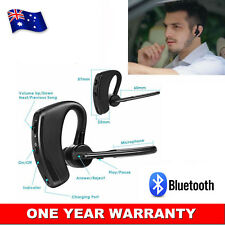 Bluetooth Headset Handsfree Wireless Earpiece Noise Reduction Earbud With Mic AU