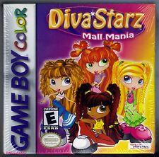 GBC Diva Starz Mall Mania (2001), Brand New & Nintendo Factory Sealed