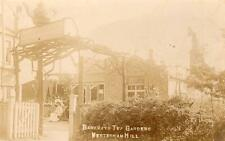 Barkways Tea Gardens Westerham Hill Bromley unused RP old pc