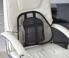 Aidapt Air Flow Lumbar Support Cushion For Car Seat Or Chair Back Rest
