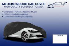 Medium Black Indoor Car Cover Protector Renault Megane CC 2010-2016