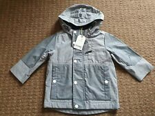 Baby Boy 12-18 Months Shower Resistant Coat. New With Tags