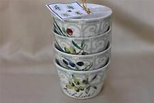 222 Fifth Olive Connoisseur Appetizer Dessert Bowls - Set of 4
