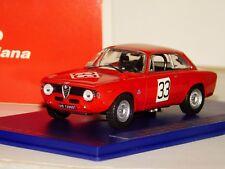 ALFA ROMEO GIULIA 1600 GTA #33 DE ADAMITCH/GALLI NURBURGRING 1969 M4 7126 1:43